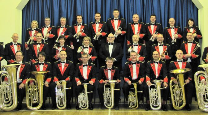 The show must go on! (The snow didn't bother Aldbourne band anyway..!)